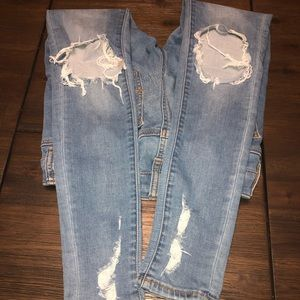 American Eagle Outfitters Pants - American Eagle super super stretch jeggings